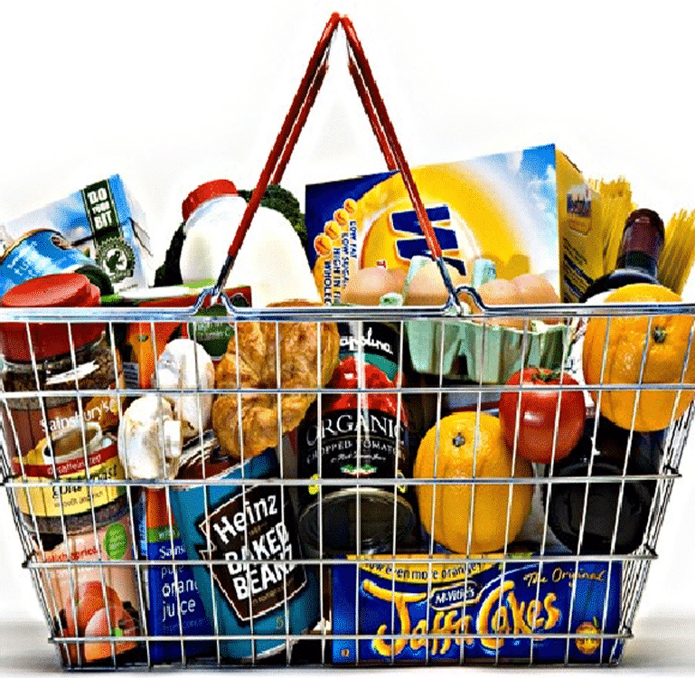 Large Grocery Basket   Greatland   Mail Order Groceries